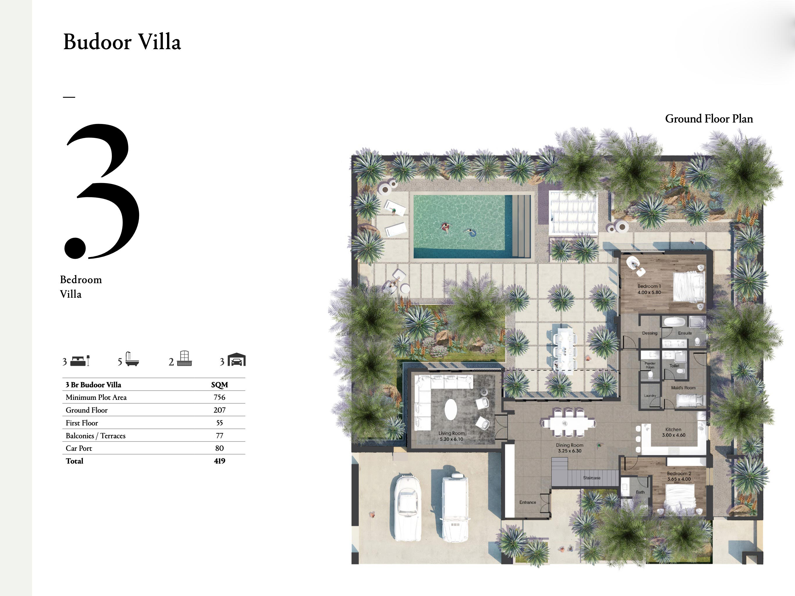 Budoor-Villa-3-Bedroom-Size-419-SQM