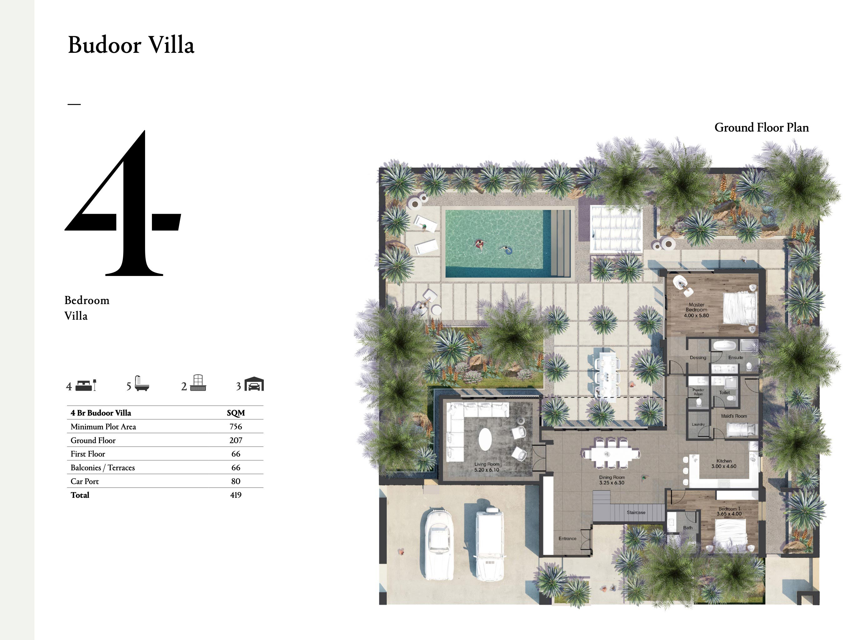 Budoor-Villa-4-Bedroom-Size-419-SQM